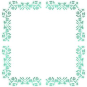 Pretty Floral Border 5
