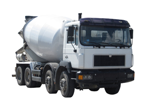 Concrete transport truck