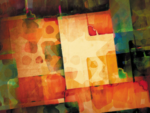 Abstract 3: Variations on an abstract painting.