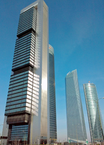 CTBA Skyscrapers, Madrid
