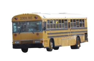 School bus: A school bus isolated.