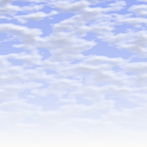 Cloudy Sky 10: White clouds in a blue sky make a great texture or background. You may prefer this:  http://www.rgbstock.com/photo/2dyXbE5/No+title  or this:  http://www.rgbstock.com/photo/2dyXy8Y/Sky+and+Clouds+2