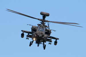 Apache: Apache AH1 (ZJ218), British Army Air Corps, at the Waddington Airshow 2013