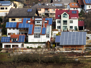 roofs with solar panels: roofs with solar panels