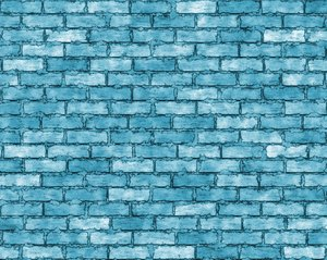 Coloured Brick Wall 3