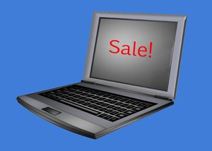 Computer Sales 2: A computer with a