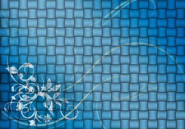 Abstract background: Abstract background with the floral decoration in two versions.