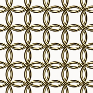 Metallic Loop Tile