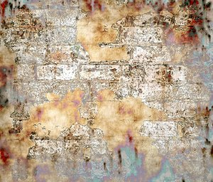 Grunge Brick Wall 2: A grungy, plastery, broken wall. Will make a great background or texture. You may prefer this:  http://www.rgbstock.com/photo/mV0QCmg/Grunge+Wall  or this:  http://www.rgbstock.com/photo/nL9jKIq/Graphic+Bricks