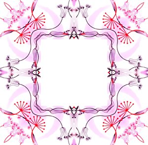 Ornate Floral Frame 3: An ornate vintage styled decorative floral frame. You may prefer: http://www.rgbstock.com/photo/nTCGQ2G/Victorian+Border  or:  http://www.rgbstock.com/photo/mVEl3Cw/Pretty+in+Pink+1 Great for scrapbooking, cards, poetry, etc.