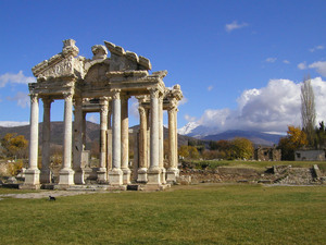 aphrodisia temple in turkey