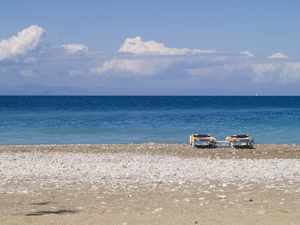 Trianda Beach, Rhodes.