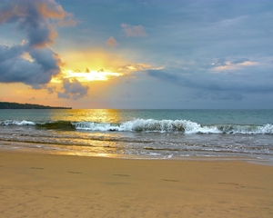 Bali beach sunset 1