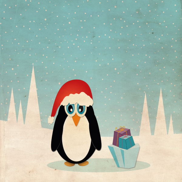 Christmas Penguin - 1