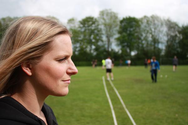 Sport girl portrait 1