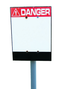 Danger! Sign 1