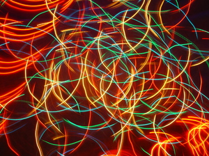 Xmas abstract lights