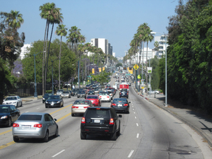 Los Angeles streets