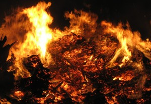 Easter Fire 4: It's a picture of a Easter Fire in Germany. It's an easter tradition in my neighborhood