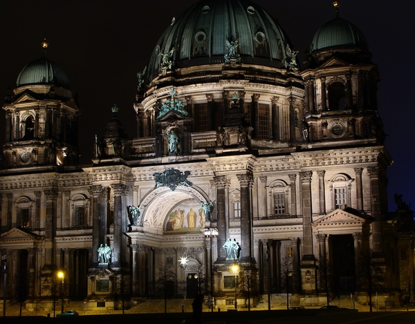 Berlin Cathedral at night 1