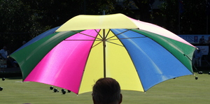 Umbrella: Colourful summer umbrella