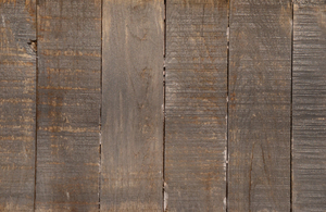 Wood slat flooring 3: Parallel wood slat flooring in an unfinished texture.