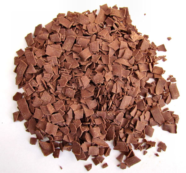 chocolate flakes2: milk chocolate flakes for desserts and sandwich toppings