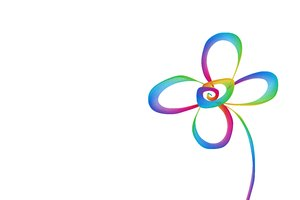Doodle Flower: A rainbow coloured flower doodle or scribble makes a great page decoration or border. Very cheerful primary colours. You may prefer this:  http://www.rgbstock.com/photo/2dyXqqg/Spring+Flowers+Background+1  or this:  http://www.rgbstock.com/photo/2dyX83B/S