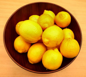 bowl of lemons1: bowl with quantity of lemons