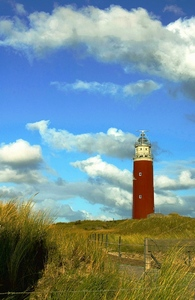 Lighthouse off Texel