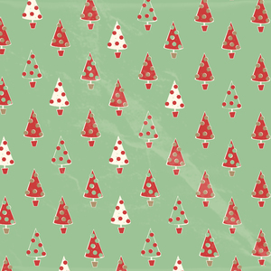 Christmas tree pattern: Christmas tree paper background