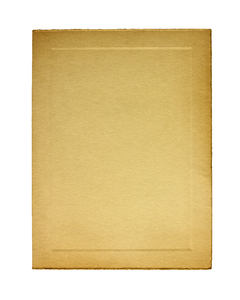Photo Folder: Early 20th century folder with an embossed center for the picture.