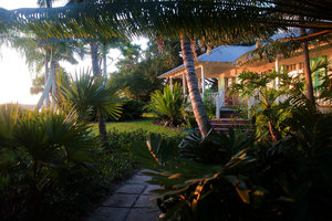 Southern Florida Waterside Cot: This is what Florida is all about. Built by hand, by the owner, whilst in their sixties, this is what most folks dream of retiring too. The house is surrounded by unspoilt rivers and there is not a sound for miles. Photo taken as the sun was rising in the