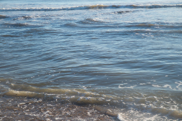 Gulf of Mexico Water: Gentle swell on the Gulf of Mexico