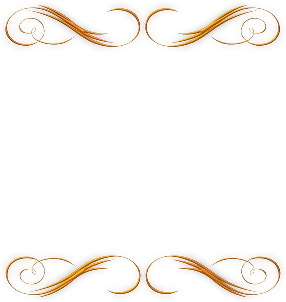 Golden Ornate Border 22: A golden ornate border or frame on a white background. Very elegant and old fashioned in a classic style. You may prefer:  http://www.rgbstock.com/photo/o6fn1Qa/Golden+Ornate+Border+21  or:  http://www.rgbstock.com/photo/nL3fW54/Golden+Vine+Border+3
