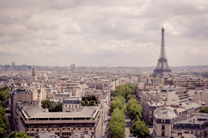 Paris City Skyline 1