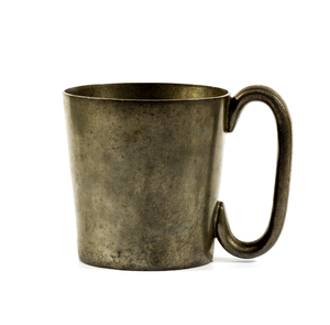 Pewter Cup: Leadless pewter from the art Deco era. Made in England
