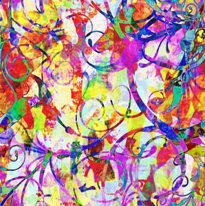 Art 2: Colourful abstract art makes a great background, fill or texture. You may prefer:  http://www.rgbstock.com/photo/orzUuum/Grunge+Flower+8  or:  http://www.rgbstock.com/photo/omPeWHo/Summery+Collage