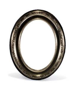 Oval Metal Frame