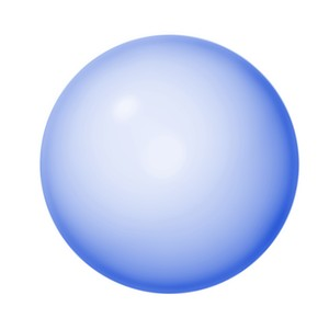 Isolated Sphere or Button 5
