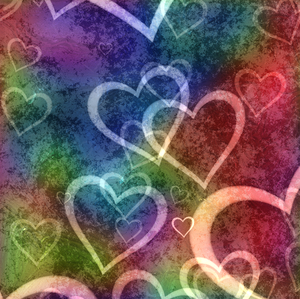 Hearts Background 1