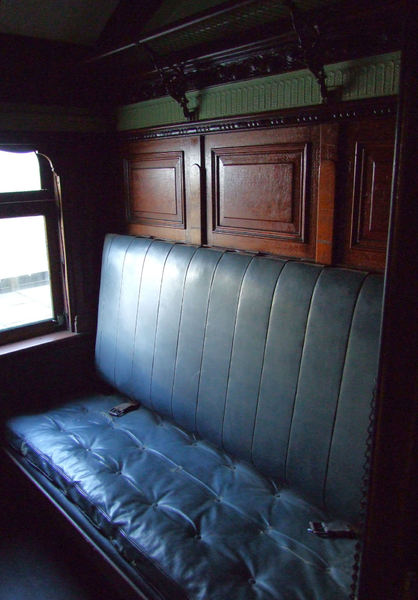 sleeping compartment1: dark compartment in long journey railway sleeping carriage
