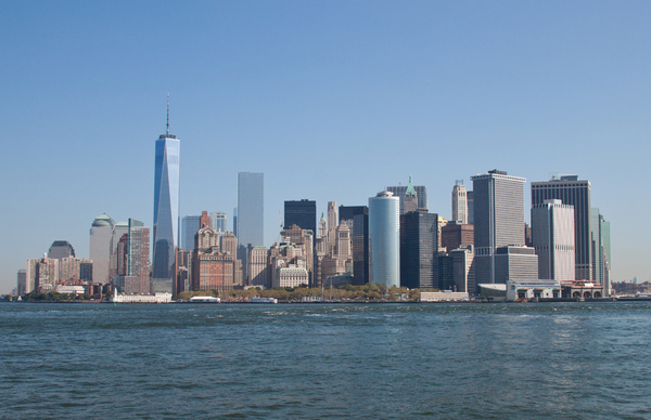 new york skyline:
