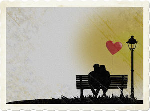 lovers: lovers on the bench