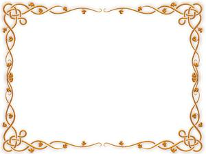 Golden Celtic Border 2: A decorative Celtic border in gold. You may prefer:  http://www.rgbstock.com/photo/o6fn1Qa/Golden+Ornate+Border+21  or:  http://www.rgbstock.com/photo/nvi0UW8/Golden+Ornate+Border+2 Use within licence or contact me.