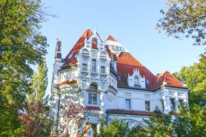 Gratis stock foto 39 s rgbstock gratis afbeeldingen decoratieve witte villa ayla87 - Villa decoratie ...