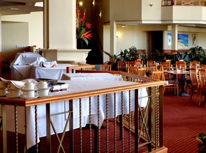 dining ambience6: open area spacious restaurant tables & chairs available for diners