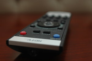 Remote Control: remote control with Chinese characters.