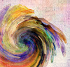 Paint Twirl 2: Variations on an abstract twirl.