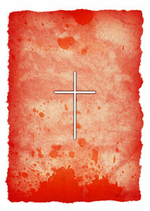 Blood Stained: The Cross on Blood Stained Background.http://www.dailyaudiobibl ..Please visit my stockxpert gallery:http://www.stockxpert.com ..